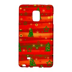Christmas Magic Galaxy Note Edge by Valentinaart