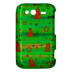 Xmas magical design HTC Wildfire S A510e Hardshell Case
