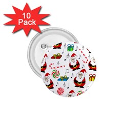 Xmas Song 1 75  Buttons (10 Pack) by Valentinaart