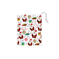 Xmas song Drawstring Pouches (XS)  by Valentinaart