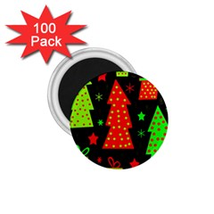 Merry Xmas 1 75  Magnets (100 Pack)  by Valentinaart