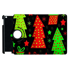 Merry Xmas Apple Ipad 2 Flip 360 Case by Valentinaart
