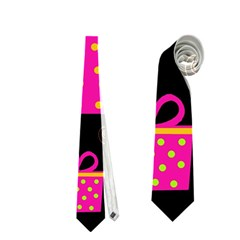 Colorful Xmas Neckties (two Side)  by Valentinaart