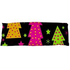 Colorful Xmas Body Pillow Case (dakimakura) by Valentinaart