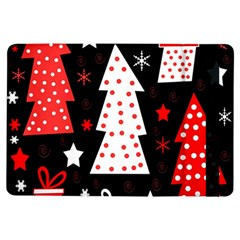Red Playful Xmas Ipad Air Flip by Valentinaart