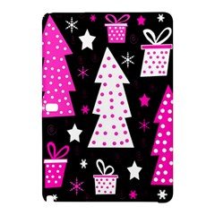 Pink Playful Xmas Samsung Galaxy Tab Pro 12 2 Hardshell Case by Valentinaart