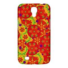 Orange Design Samsung Galaxy Mega 6 3  I9200 Hardshell Case by Valentinaart