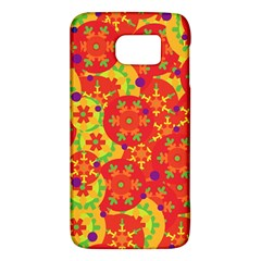 Orange Design Galaxy S6 by Valentinaart
