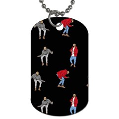 Drake Ugly Holiday Christmas Dog Tag (two Sides) by Onesevenart