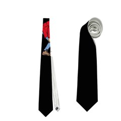 Drake Ugly Holiday Christmas Neckties (one Side)  by Onesevenart