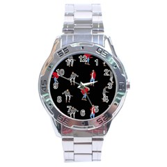 Drake Ugly Holiday Christmas Stainless Steel Analogue Watch by Onesevenart