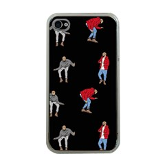 Drake Ugly Holiday Christmas Apple Iphone 4 Case (clear) by Onesevenart
