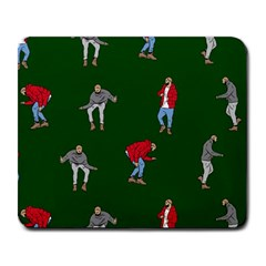 Drake Ugly Holiday Christmas 2 Large Mousepads by Onesevenart