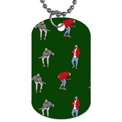 Drake Ugly Holiday Christmas 2 Dog Tag (two Sides) by Onesevenart