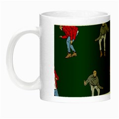 Drake Ugly Holiday Christmas 2 Night Luminous Mugs by Onesevenart