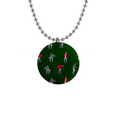 Drake Ugly Holiday Christmas 2 Button Necklaces by Onesevenart