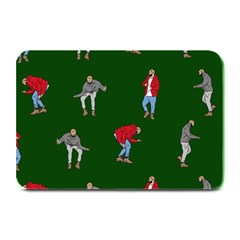 Drake Ugly Holiday Christmas 2 Plate Mats by Onesevenart