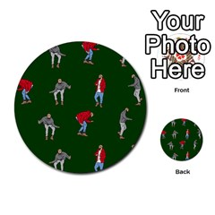 Drake Ugly Holiday Christmas 2 Multi Purpose Cards (round)  by Onesevenart