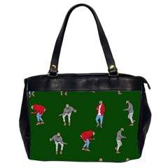 Drake Ugly Holiday Christmas 2 Office Handbags (2 Sides)  by Onesevenart