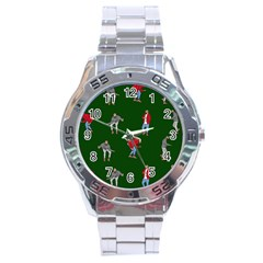 Drake Ugly Holiday Christmas 2 Stainless Steel Analogue Watch by Onesevenart