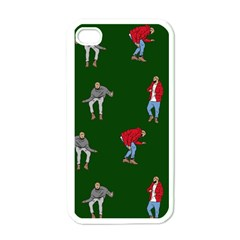 Drake Ugly Holiday Christmas 2 Apple Iphone 4 Case (white) by Onesevenart
