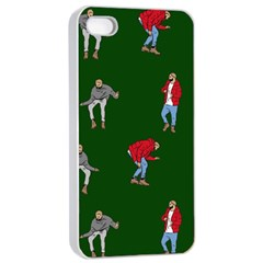 Drake Ugly Holiday Christmas 2 Apple Iphone 4/4s Seamless Case (white) by Onesevenart