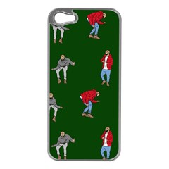 Drake Ugly Holiday Christmas 2 Apple Iphone 5 Case (silver) by Onesevenart
