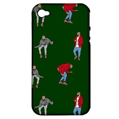 Drake Ugly Holiday Christmas 2 Apple Iphone 4/4s Hardshell Case (pc+silicone) by Onesevenart