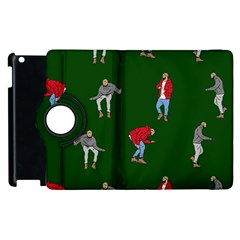 Drake Ugly Holiday Christmas 2 Apple Ipad 3/4 Flip 360 Case by Onesevenart