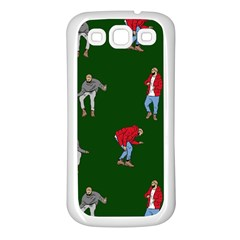 Drake Ugly Holiday Christmas 2 Samsung Galaxy S3 Back Case (white) by Onesevenart