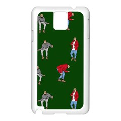 Drake Ugly Holiday Christmas 2 Samsung Galaxy Note 3 N9005 Case (white) by Onesevenart
