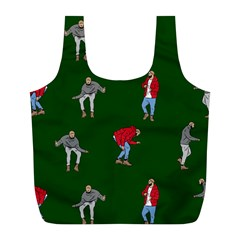 Drake Ugly Holiday Christmas 2 Full Print Recycle Bags (l)  by Onesevenart
