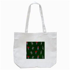 Drake Ugly Holiday Christmas 2 Tote Bag (white) by Onesevenart