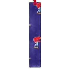 Drake Ugly Holiday Christmas Large Book Marks by Onesevenart
