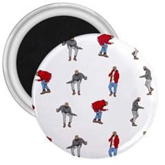 Drake Ugly Holiday Christmas 3  Magnets by Onesevenart
