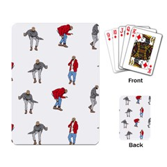 Drake Ugly Holiday Christmas Playing Card by Onesevenart
