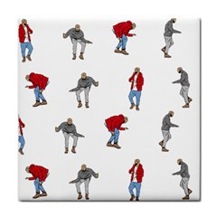 Drake Ugly Holiday Christmas Face Towel by Onesevenart