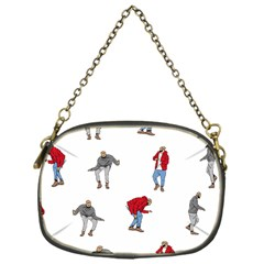 Drake Ugly Holiday Christmas Chain Purses (one Side)  by Onesevenart