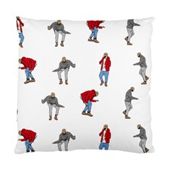 Drake Ugly Holiday Christmas Standard Cushion Case (one Side) by Onesevenart