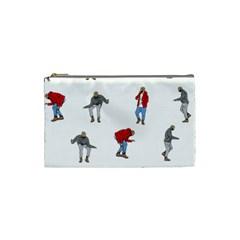 Drake Ugly Holiday Christmas Cosmetic Bag (small)  by Onesevenart