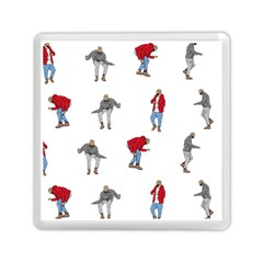 Drake Ugly Holiday Christmas Memory Card Reader (square)  by Onesevenart