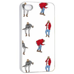 Drake Ugly Holiday Christmas Apple Iphone 4/4s Seamless Case (white) by Onesevenart