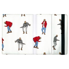 Drake Ugly Holiday Christmas Apple Ipad 2 Flip Case by Onesevenart