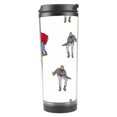 Drake Ugly Holiday Christmas Travel Tumbler by Onesevenart