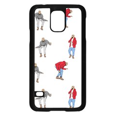 Drake Ugly Holiday Christmas Samsung Galaxy S5 Case (black) by Onesevenart