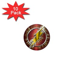 Flash Flashy Logo 1  Mini Magnet (10 pack)  by Onesevenart