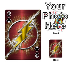 Flash Flashy Logo Playing Cards 54 Designs  by Onesevenart
