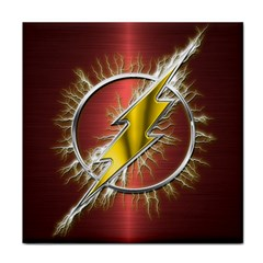 Flash Flashy Logo Face Towel by Onesevenart