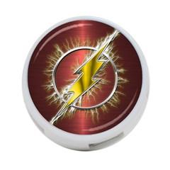 Flash Flashy Logo 4 Port Usb Hub (two Sides)  by Onesevenart