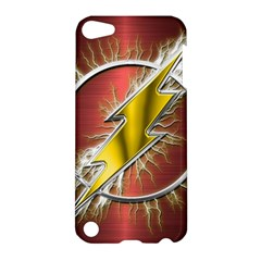 Flash Flashy Logo Apple Ipod Touch 5 Hardshell Case by Onesevenart